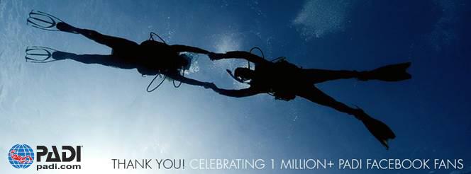 PADI FB 1 Million!
